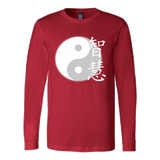 "Martial Art T-Shirt, limited edition ""red"", with Ying Yang design, unisex - T-shirt - Art of KIME"