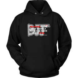 Martial Art Hoodie, black, with BJJ quote, unisex - hoodie - Art of KIME