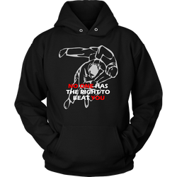Martial Art Hoodie, black, with inspiring quote, unisex - hoodie - Art of KIME