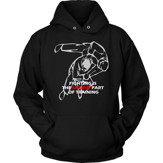 Martial Art Hoodie, black, with Judo quote, unisex - hoodie - Art of KIME
