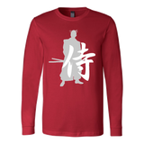 "Martial Art T-Shirt, limited edition ""red"", with samurai design, unisex - T-shirt - Art of KIME"