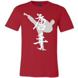"Martial Art T-Shirt, limited edition ""red"", with karate design, unisex - T-shirt - Art of KIME"