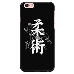 Martial Art Phone Case, black, with BJJ design, Apple iPhone 5 to 7 - Phone Cases - Art of KIME