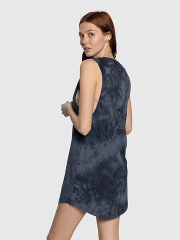 Tie Dye Navy Aussie Dress