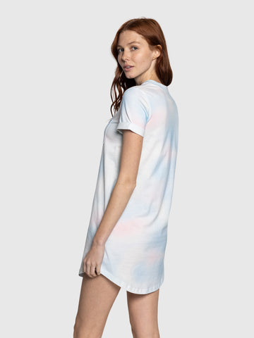 Cotton Candy Tee Dress