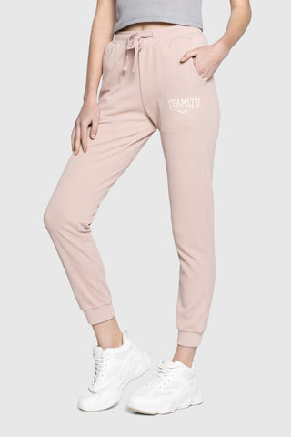 Ladies Rosé Training Joggers
