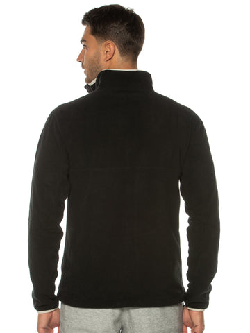 Black Polar Fleece Pullover
