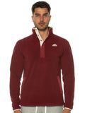 Burgundy Polar Fleece Pullover