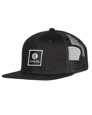 Black Logo Trucker