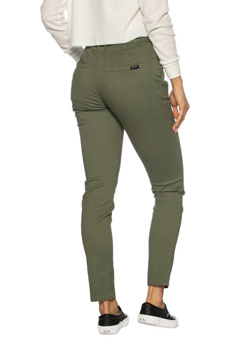 Ladies Moss Chinos
