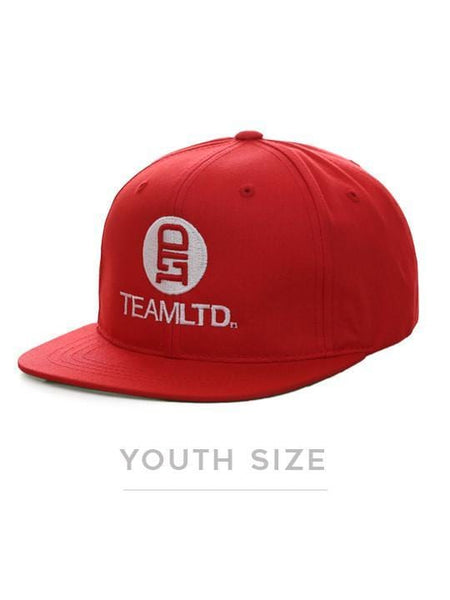 Youth Logo Lid Red