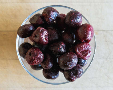 Frozen cherries for smoothies