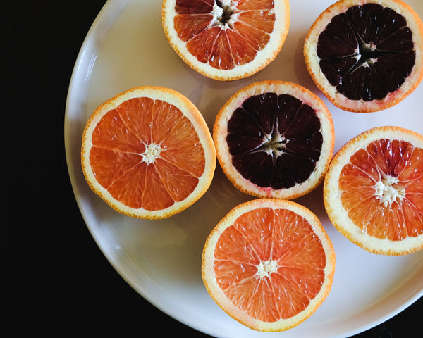Blood oranges for smoothies