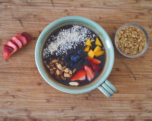 Smoothie bowl made with our Primo Smoothie