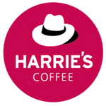Harries Coffee Round Hat logo
