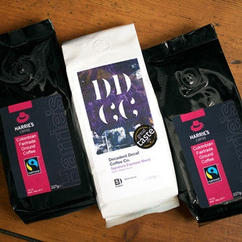 2+1 227g Harrie's and Decaf-Harrie's Coffee