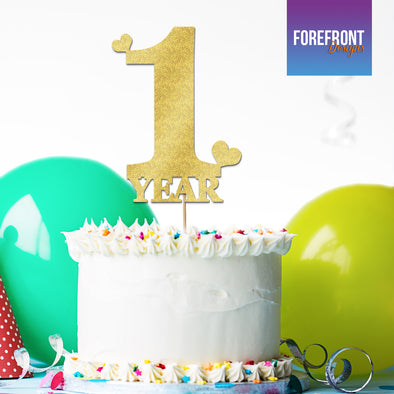 Pleasant Personalised Birthday Cake Topper 1St Birthday Personalised Birthday Cards Veneteletsinfo