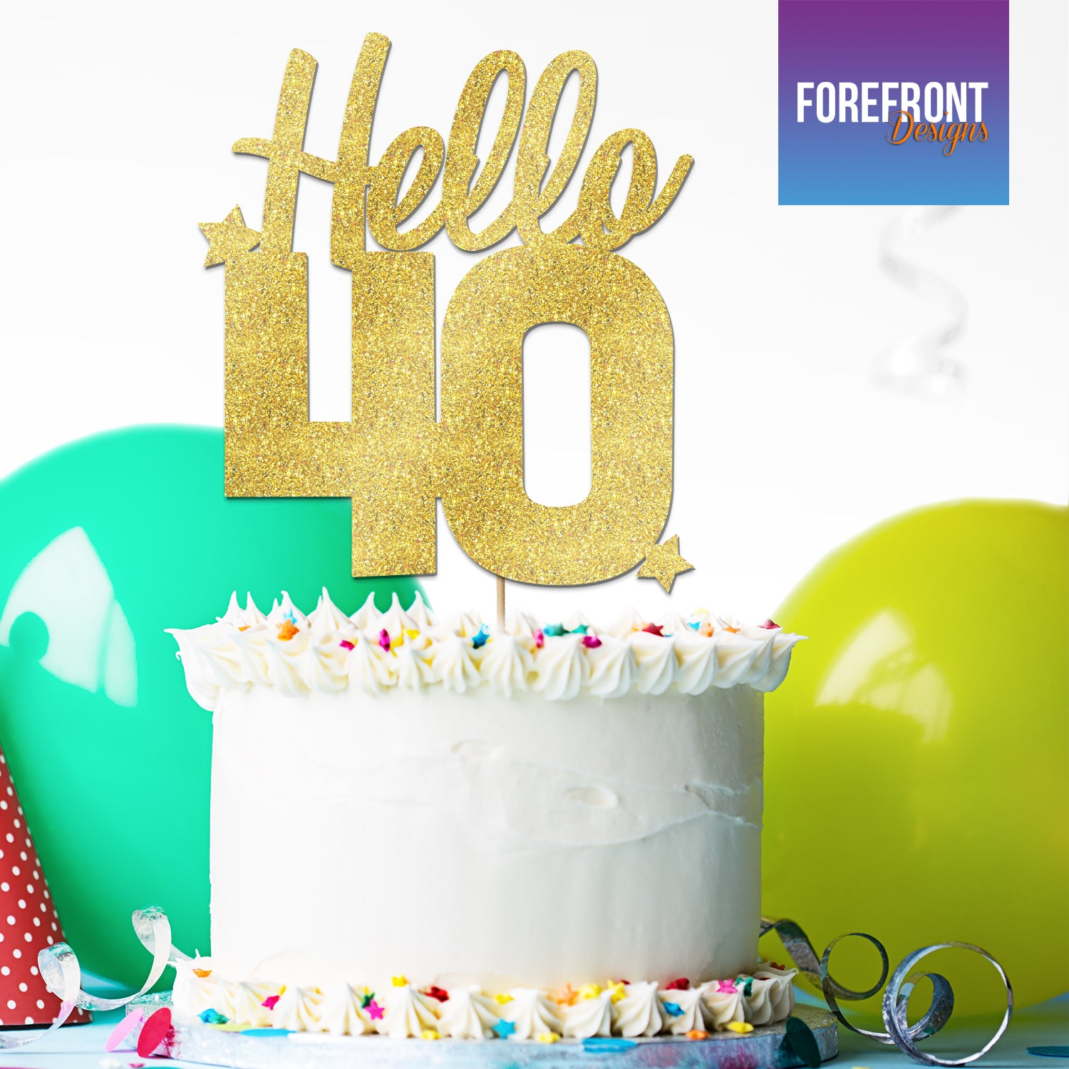 Personalised Cake Toppers 40Th Birthday — superbo.ecomvia.info
