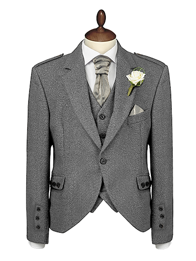 Light Grey Tweed Jacket Upgrade