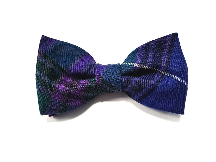 Spirit of Bannockburn Tartan Bow Tie - Gilt Edged