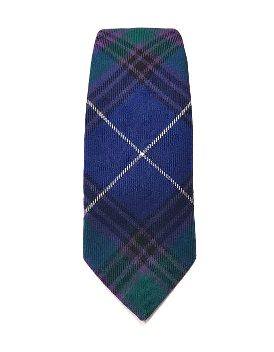 Spirit of Bannockburn Tartan Tie - Gilt Edged