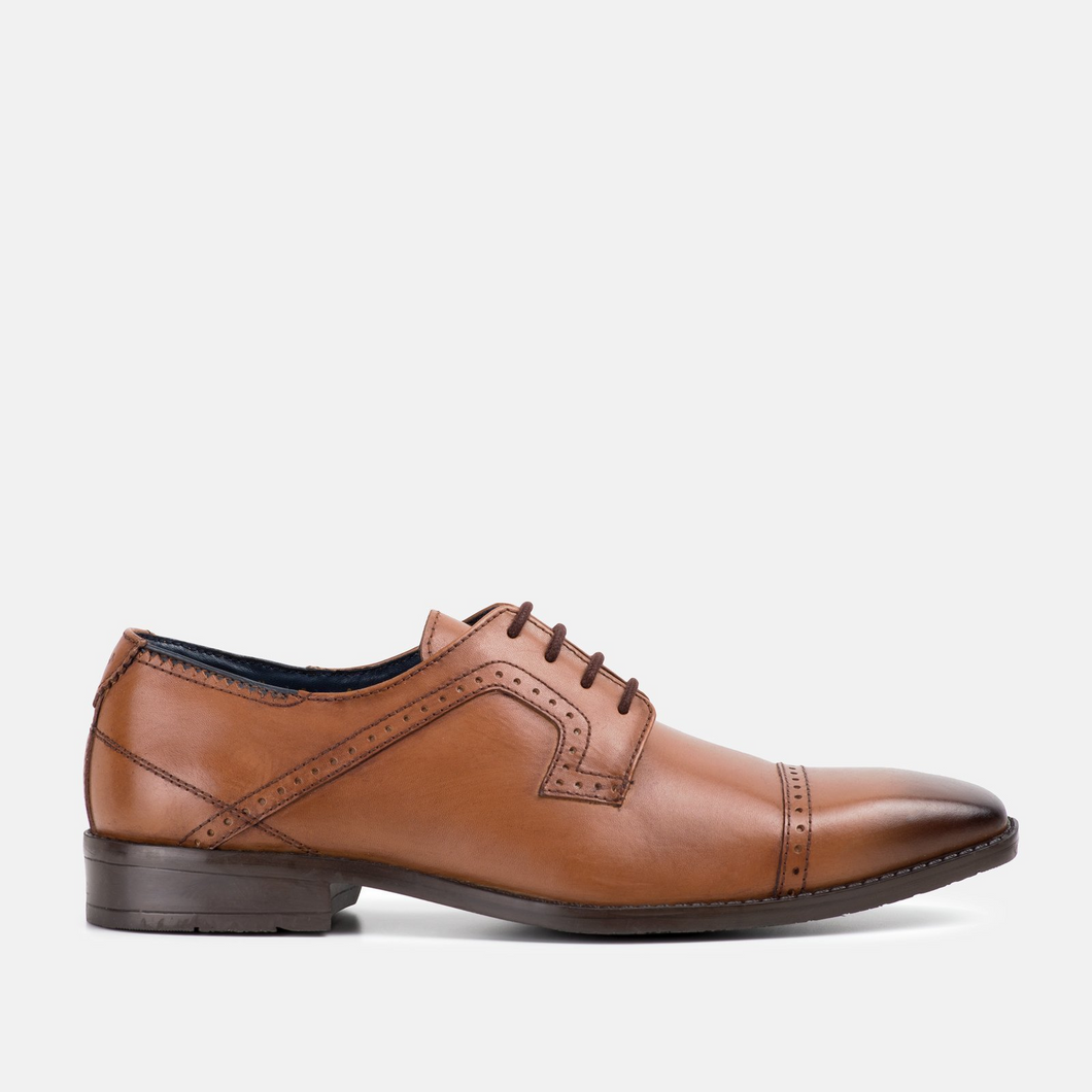 Goodwin Smith Victor Tan Shoe - Gilt Edged