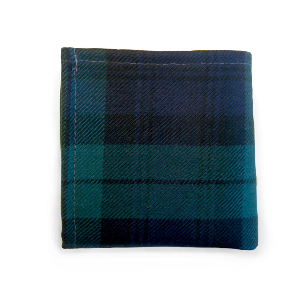 Black Watch Tartan Hankie - Gilt Edged