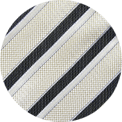 Charcoal Stripe Hankie Upgrade