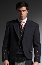 Charcoal Tweed Jacket - Gilt Edged