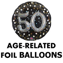 Age Related Foil Balloons