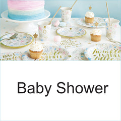 Baby Shower Tableware Decoration Party Supplies