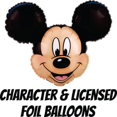 Character Licensed Foil Balloons