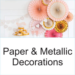 Paper Metallic Decorations