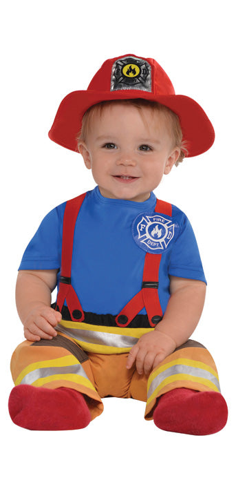 Infant First Fireman Costume - INFANT - Halloween & Party Costumes - America Likes To Party