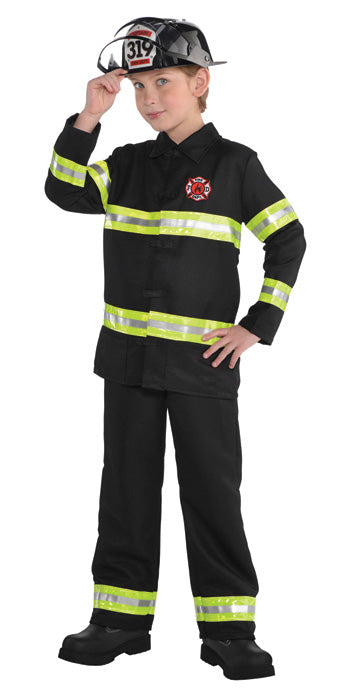 Child Fire Fighter Costume - BOYS - Halloween & Party Costumes - America Likes To Party
