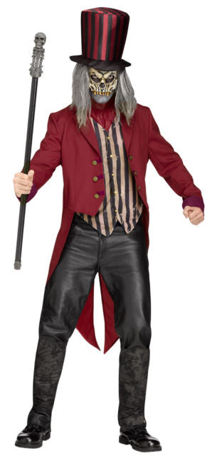 Adult Freakshow Ringmaster Costume - ADULT MALE - Halloween & Party Costumes - America Likes To Party
