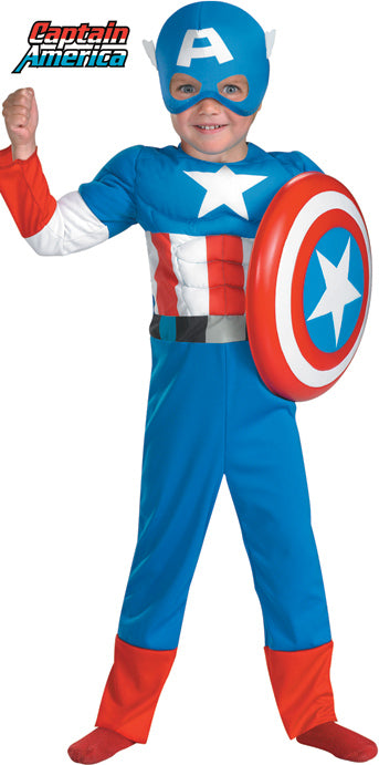 Toddler Captain America Costume - TODDLER - Halloween & Party Costumes - America Likes To Party