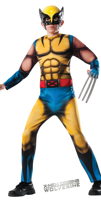 Child Wolverine Costume - BOYS - Halloween & Party Costumes - America Likes To Party