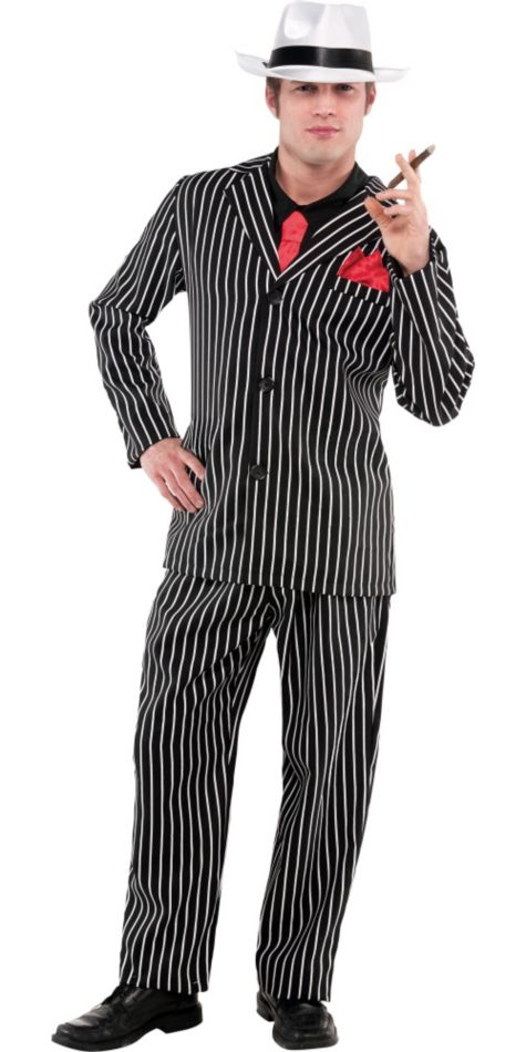 Adult Mob Boss Costume - ADULT MALE - Halloween & Party Costumes - America Likes To Party