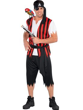 Adult Ahoy Matey Costume - ADULT MALE - Halloween & Party Costumes - America Likes To Party