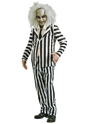 Adult Beetle Juice Costume - ADULT MALE - Halloween & Party Costumes - America Likes To Party