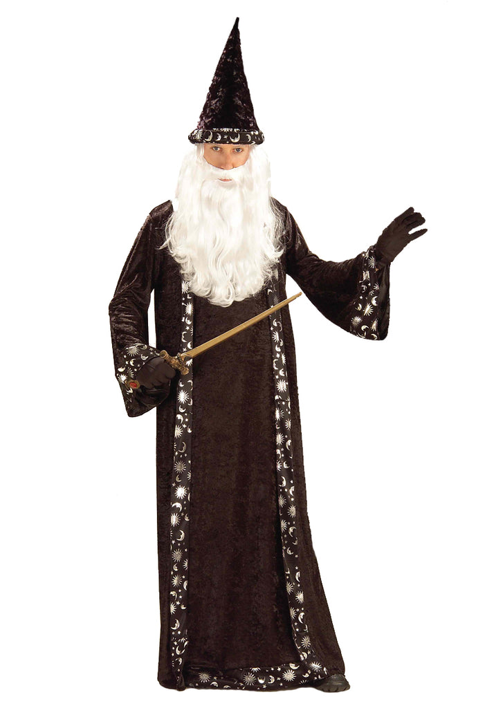 Adult Oh Mr Wizard Costume - ADULT MALE - Halloween & Party Costumes - America Likes To Party