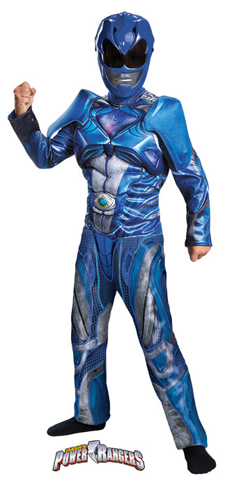 Child Blue Power Ranger Costume - BOYS - Halloween & Party Costumes - America Likes To Party