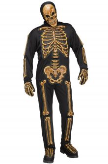 Adult Skelebones Costume - ADULT MALE - Halloween & Party Costumes - America Likes To Party
