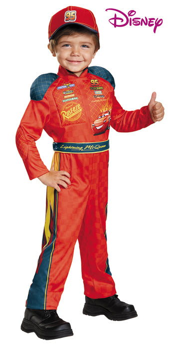 Toddler Lightning McQueen Costume - TODDLER - Halloween & Party Costumes - America Likes To Party