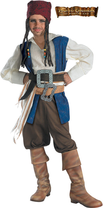 Child Jack Sparrow Costume - BOYS - Halloween & Party Costumes - America Likes To Party