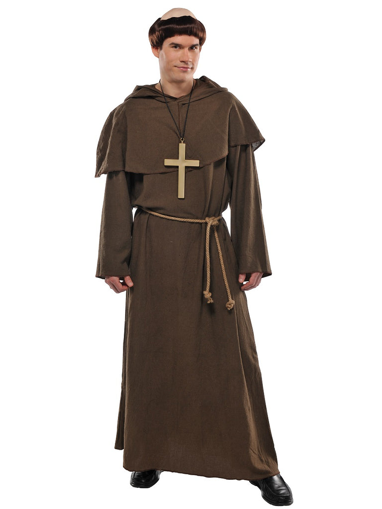 Adult Friar Costume - ADULT MALE - Halloween & Party Costumes - America Likes To Party