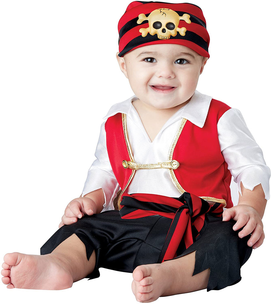 Infant Pee Wee Pirate Costume #004