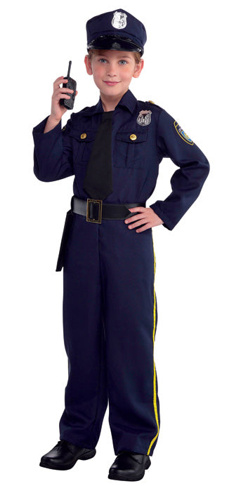 Child Police Officer Costume - BOYS - Halloween & Party Costumes - America Likes To Party