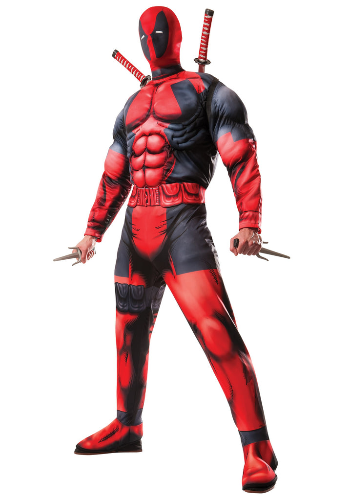 Adult Deadpool Costume - ADULT MALE - Halloween & Party Costumes - America Likes To Party